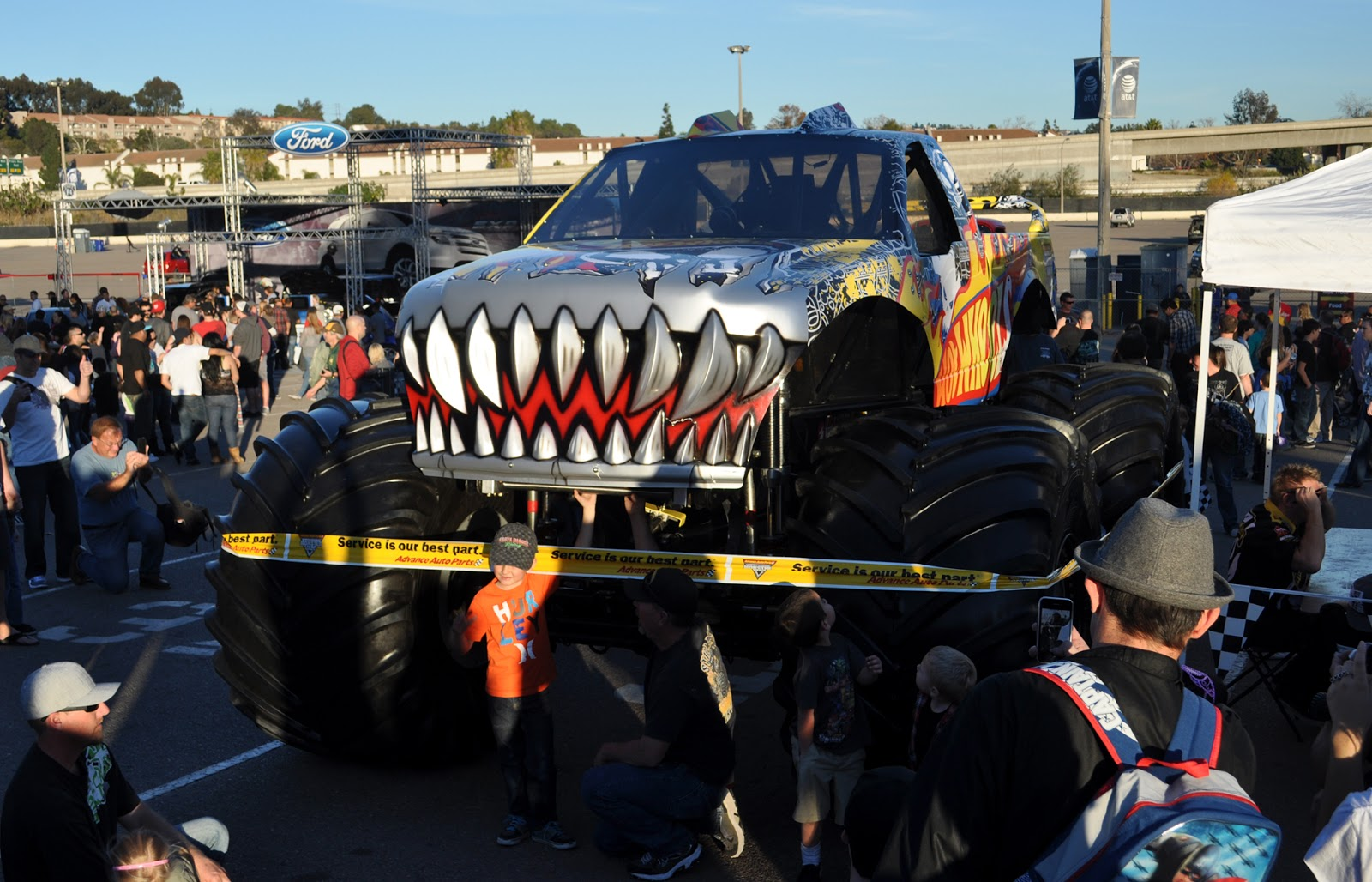 how to buy monster jam pit passes