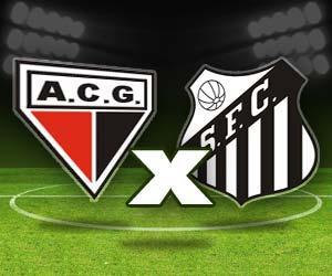 Resultado de imagem para atletico-GO x Santos