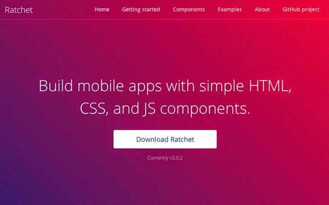 Ratchet - CSS tool