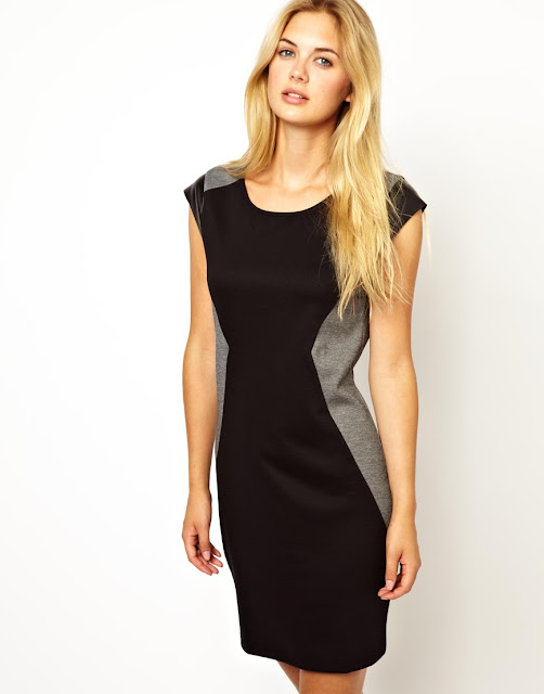 leather look bodycon dress