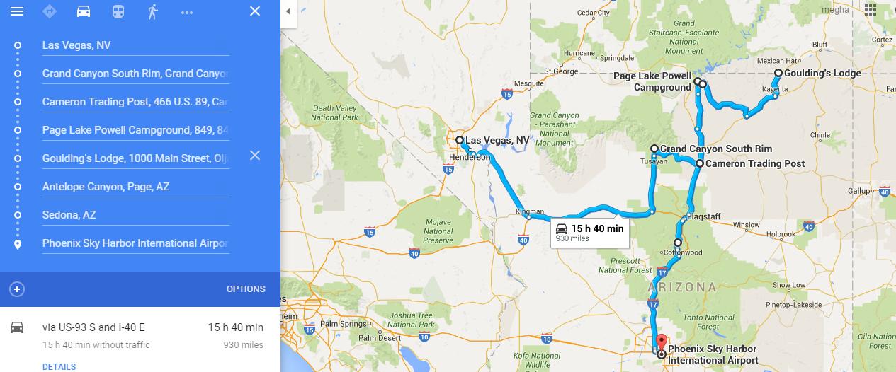 Travel: Las Vegas-Nevada --- Aug 2009, Jul 2012 and Dec 2014, Grand ...