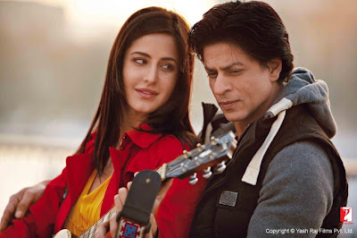 katrina smiles at shahrukh