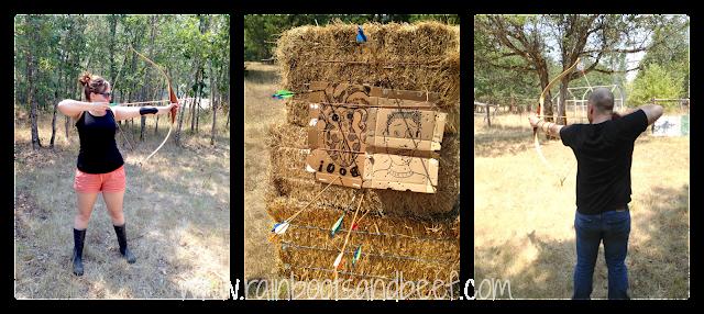 summer fun archery activity