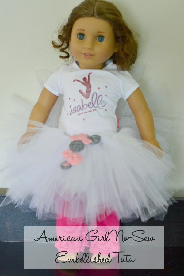Architecture of a Mom: New-Sew Embellished American Girl Doll Tutu ...