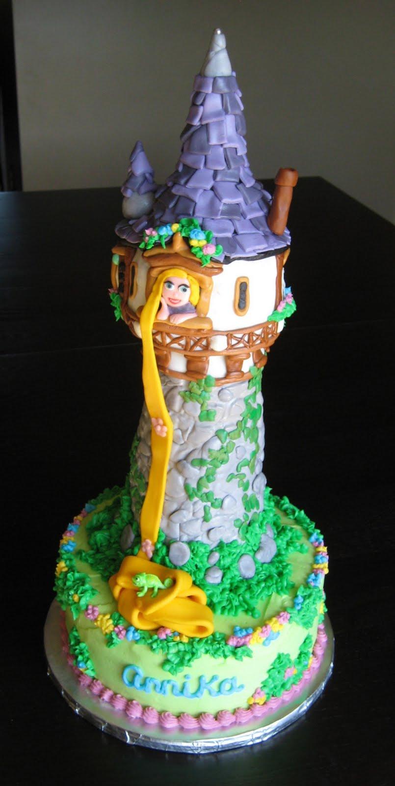 Custom Cakes by Julie: Rapunzel (Tangled) Cake