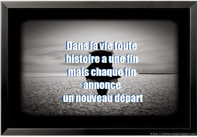 Citation fin en image