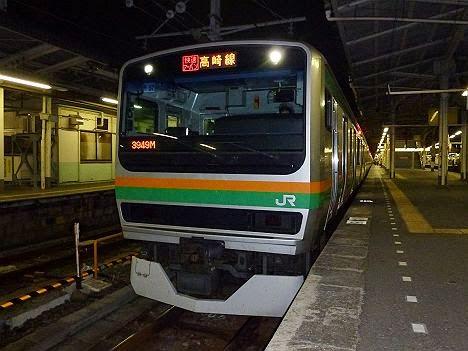快速アーバン 上野 E231系