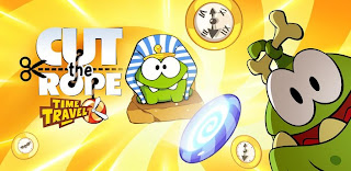Cut the Rope: Time Travel v1.2 Modded Unlocked Ads-Free Android 50MB