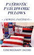 FIND 'PATRIOTIC PATCHWORK PILLOWS:  3 SEWING PATTERNS' ON AMAZON.