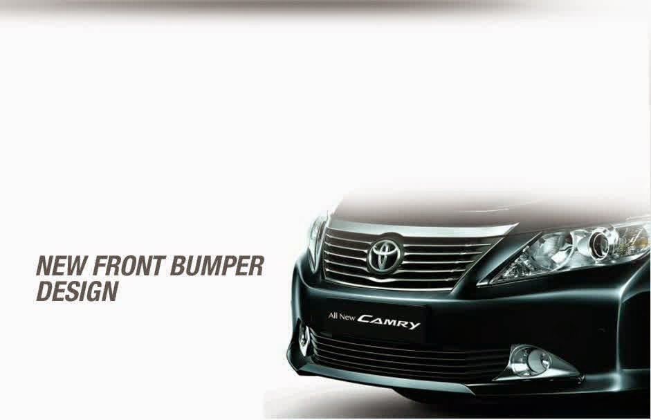 front bumper toyota camry