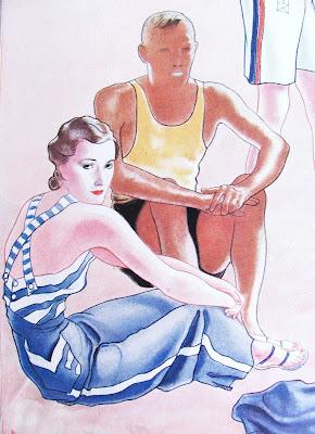 1930's Nautical Jumpsuit