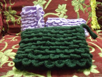 Beg Kaitan Crocodile Stitch.