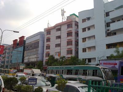 Airport-Gulshan Road, Dhaka city.