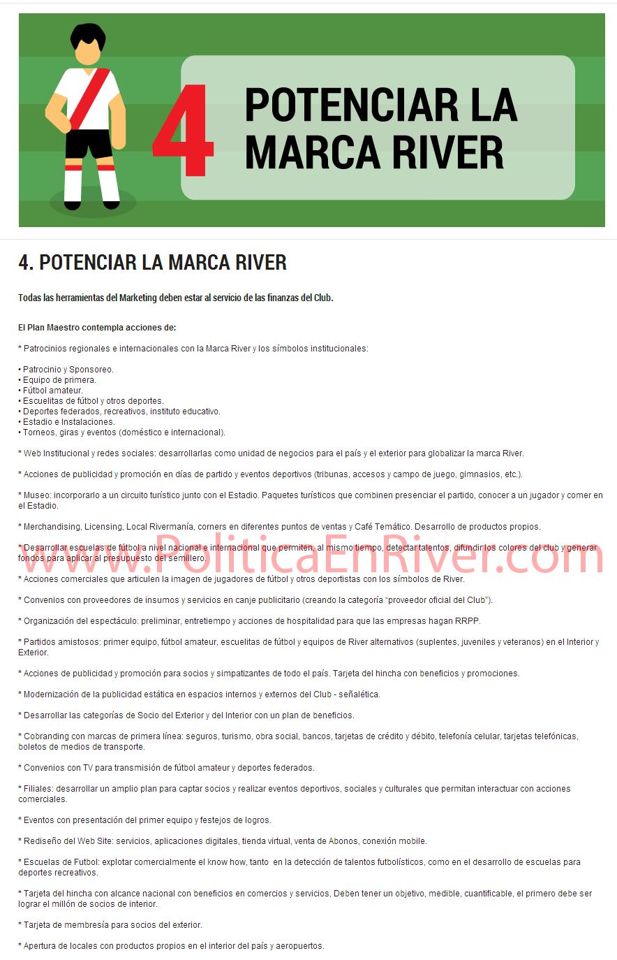 Potenciar la marca river, Rodolfo D'Onofrio, D'Onofrio, River Plate, River,