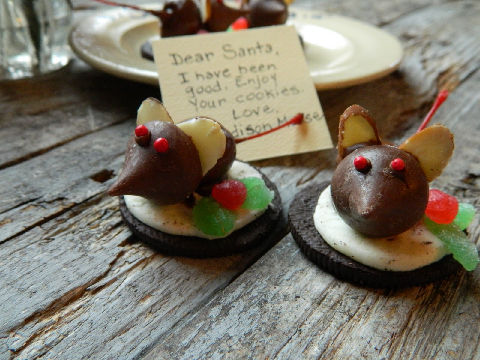 The Wednesday Baker Oreo Cherry Dipped Christmas Mice