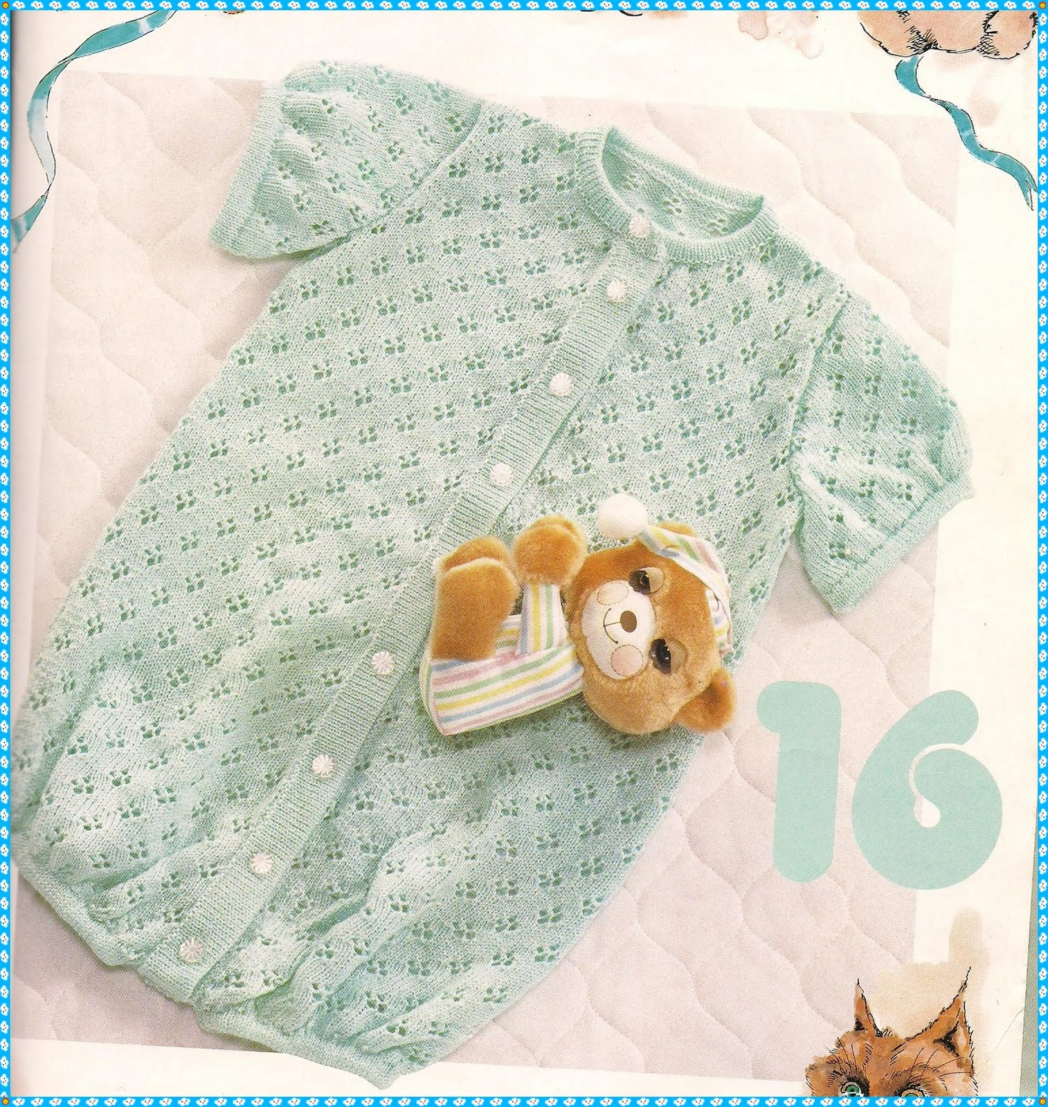 Free Knitting Patterns For Hooded Scarves : Machine Knitting is my Life: New Pattern for Baby Romper