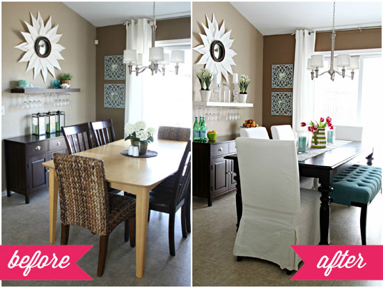 iheart organizing: our dining table deets!