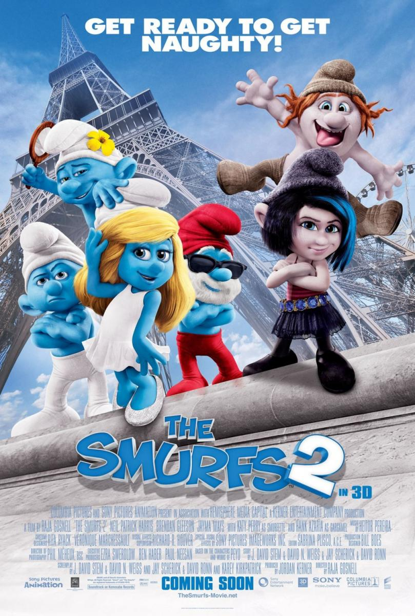 Los pitufos 2 (The Smurfs 2) 2013