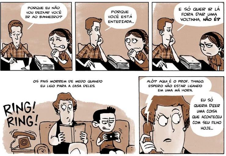 O que fazem os professores? Uma história sobre ser professor