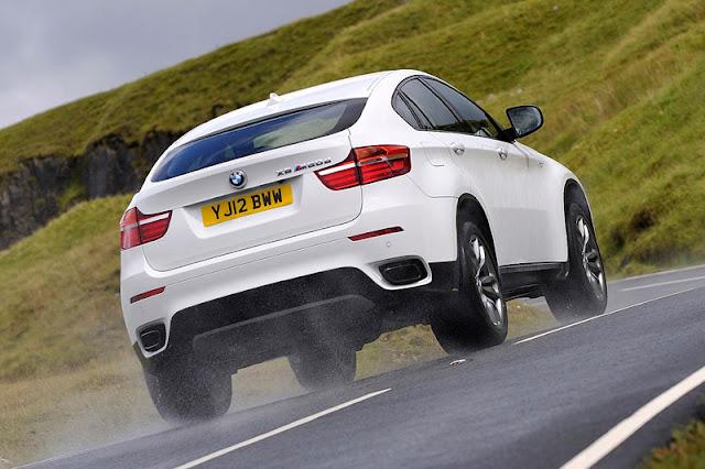 2012 BMW X6 M50d Back Exterior