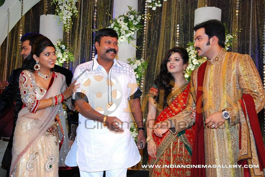 Prithviraj Wedding Reception Photos Stills Images