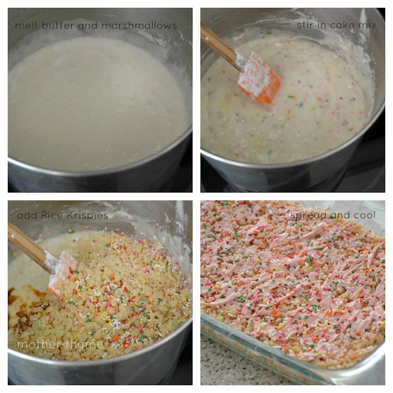 Rice crispy cake batter recipe