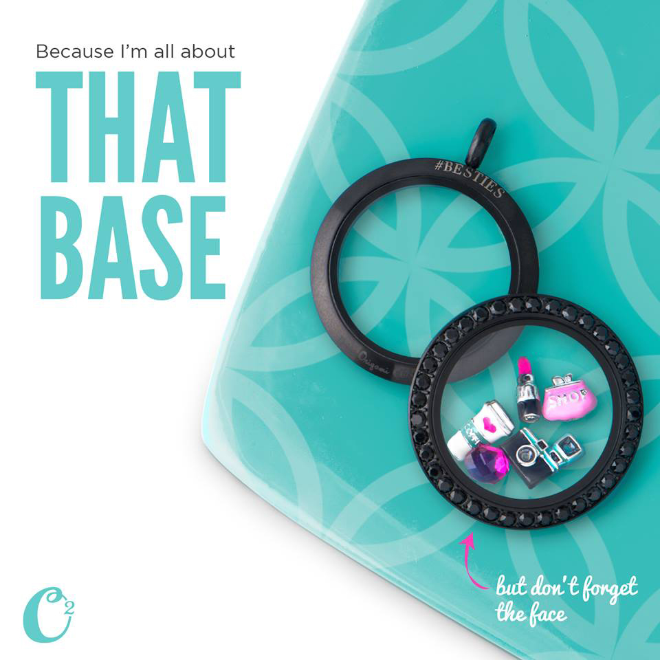 All About the Base - Origami Owl Twist Lockets available at StoriedCharms.com