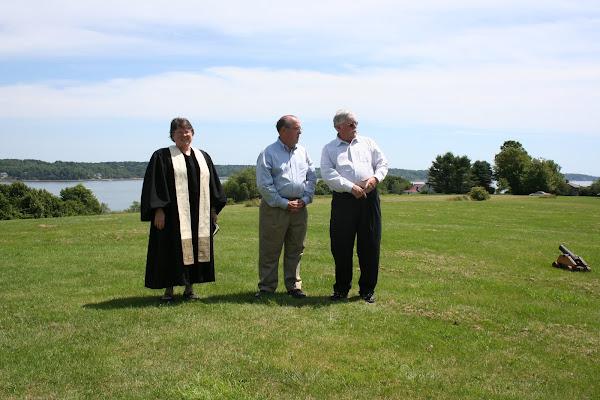 Rev. Nancy, Bobby and Peter