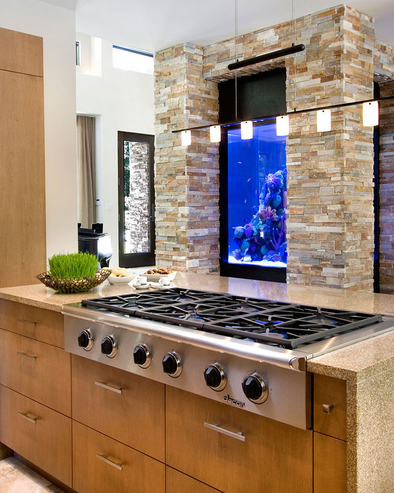 Beautiful home as a mix of modern and traditional for Modern kitchen in traditional house