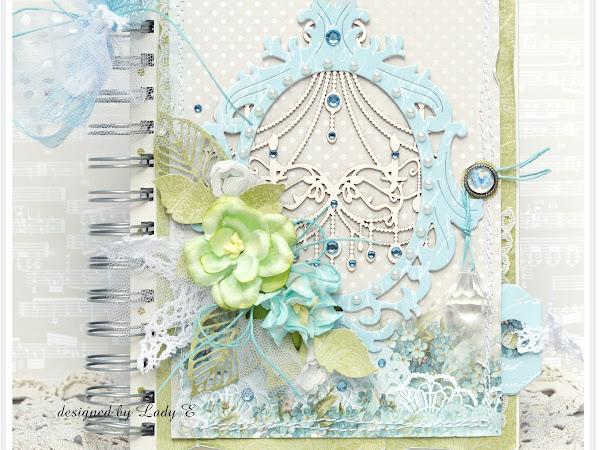 Notebook in blue / Notes na niebiesko