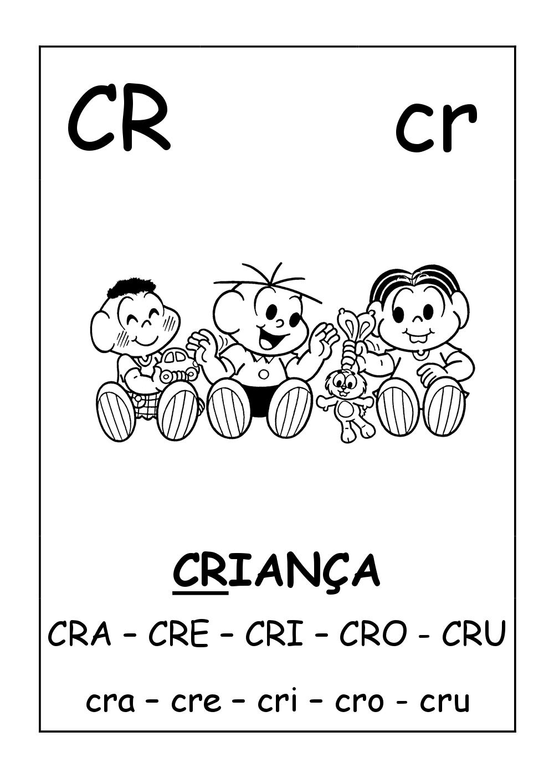 silabas complexas cl cr