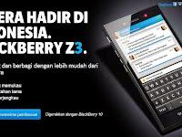 Spesifikasi dan Harga BlackBerry Z3 Terbaru