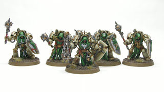samson minis: Finished! Dark Angels Deathwing Knights