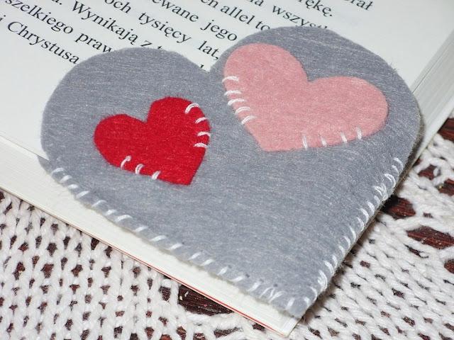 DIY- filcowa zakładka do książki