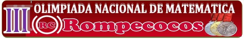 "CLUB DE FISICOS MATEMATICOS ""ROMPECOCOS"""