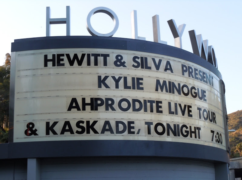 Kylie Minogue Hollywood Bowl Concert 2011