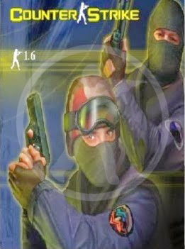 Counter-Strike 1.6. is a first-person shooter in which players join either