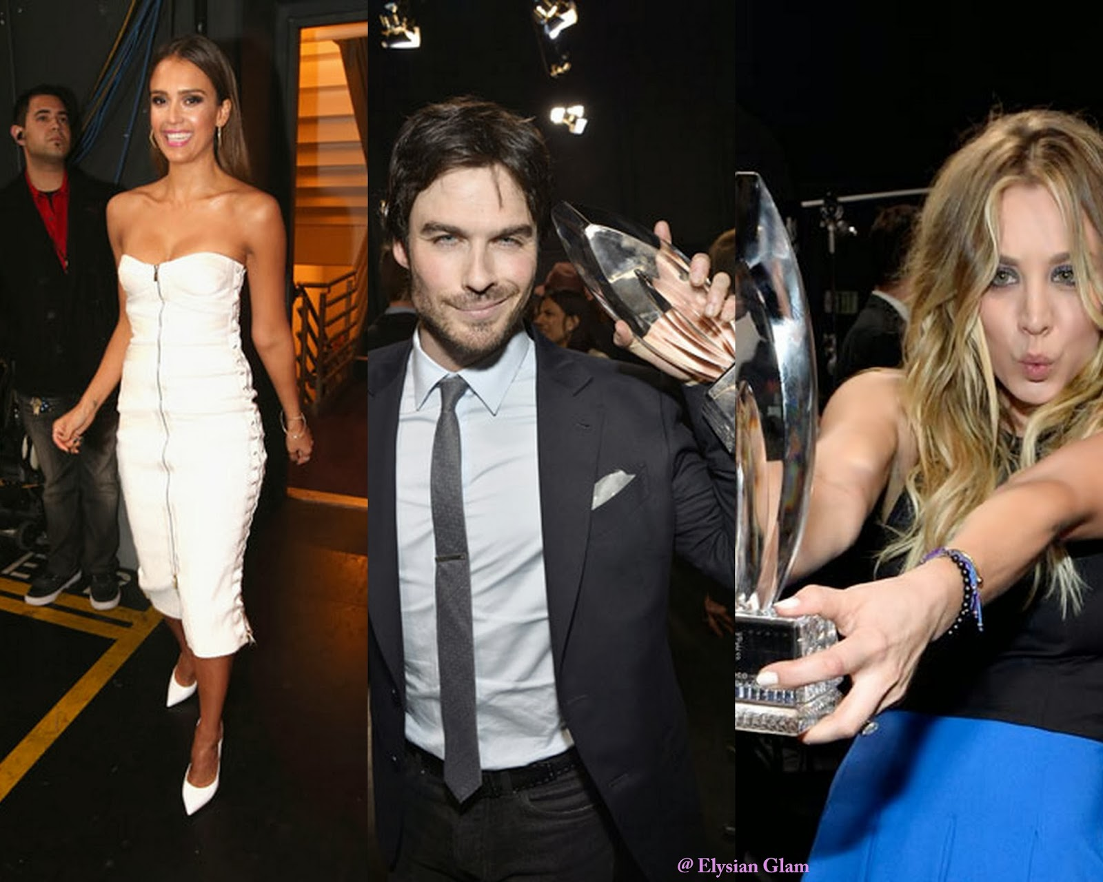 Hot Celebrities: Jessica Alba - Ian Somerhalder - Kaley Cuoco