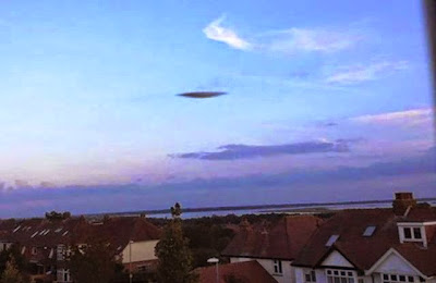UFO Sighting Spotted Above Portsmouth, UFO Sighting News