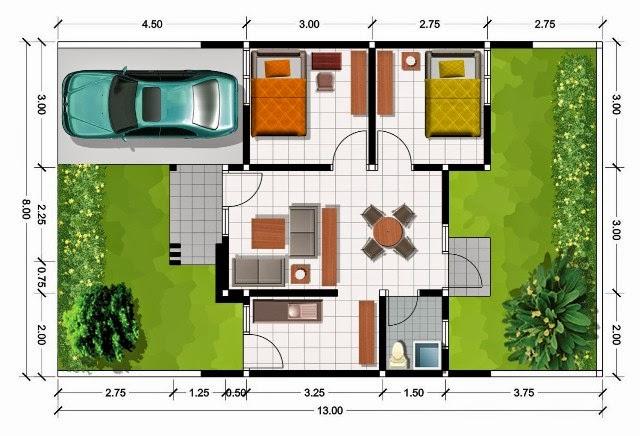 Desain ruangan minimalis 6