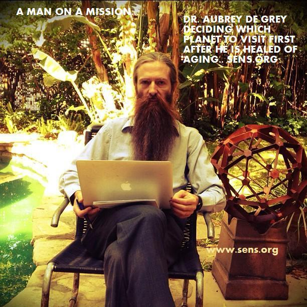 aubrey de grey research papers Life extension is honored to welcome dr aubrey de grey whether it is the latest research on how to the baker paper was a huge validation of the idea.