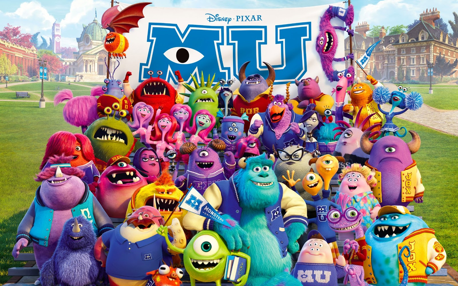 Character Design Courses University : Moo cartoon: monsters university a review