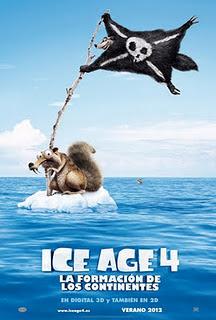Ver Ice Age 4 La formación de los continentes (2012) online