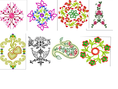 Beautiful embroidary new designs