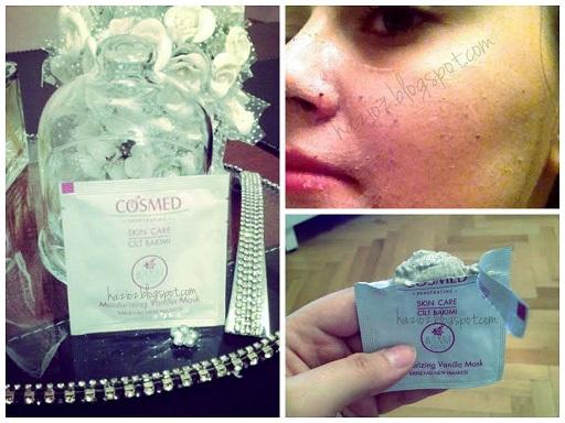 Cosmed Nem Maskesi (Moisturizing Vanilla Mask) Deneyimi