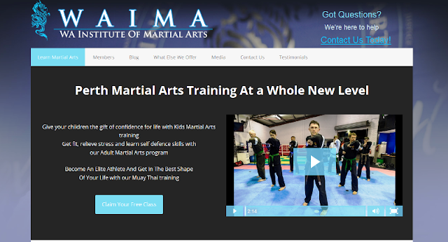 leading martial arts training centre in Perth