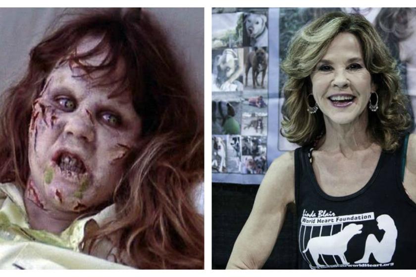 Linda Blair se hizo famosa como Regan MacNeil, la niña poseída en 'El exorcista'