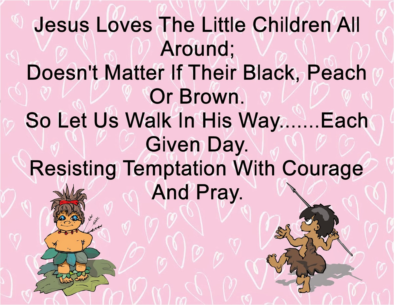 Children\'s Gems In My Treasure Box: Jesus Loves The Little Children ...