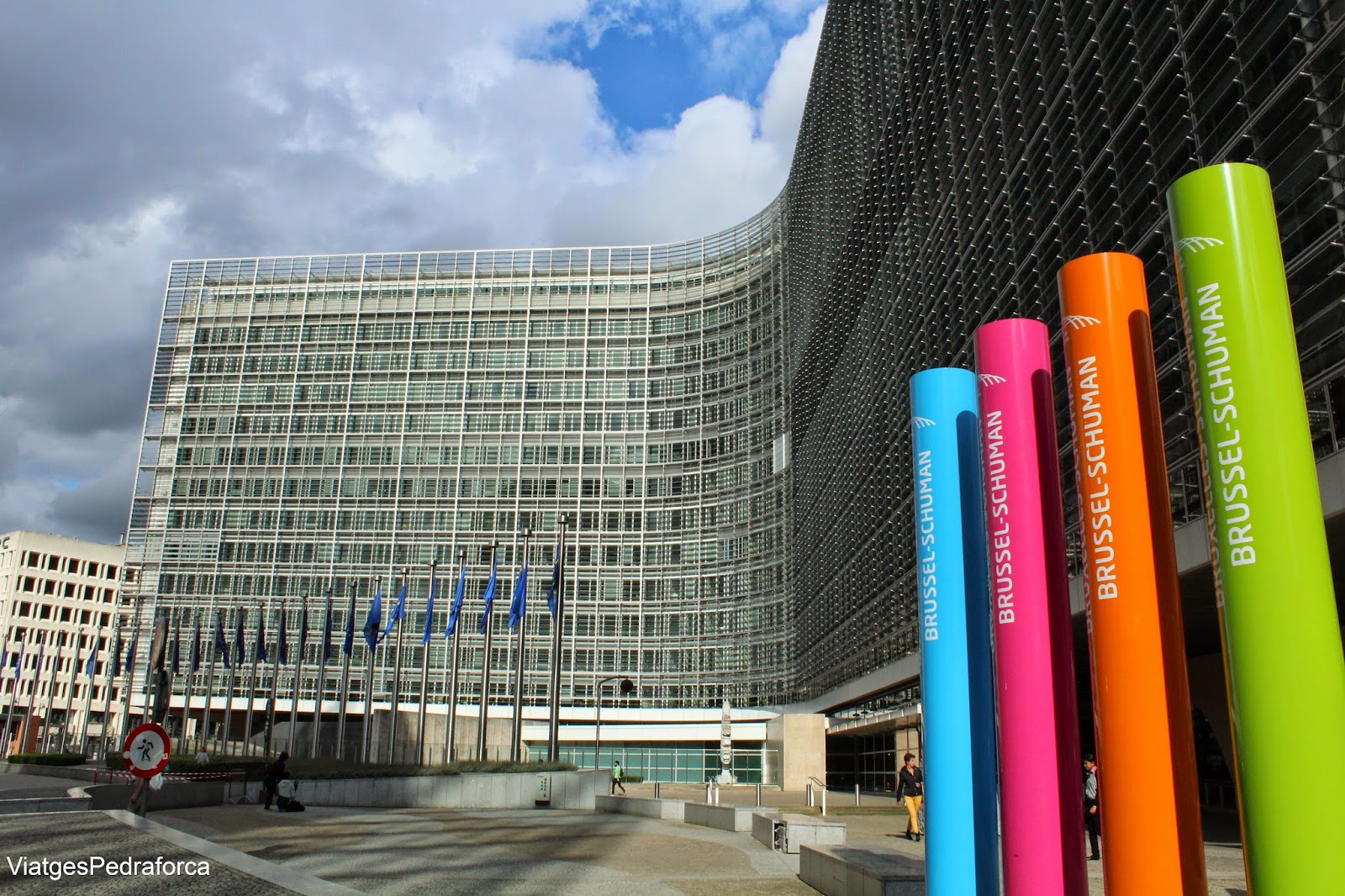 Edifici Berlaymont Brussel.les Comissio Europea
