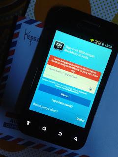 Cara Verifikasi Akun BBM Android yang Sudah Lama di Daftarkan Hermanbagus